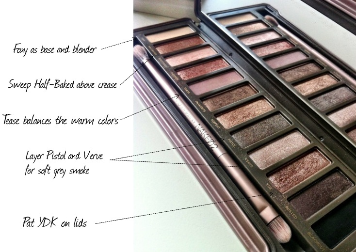 Urban Decay Naked2 Eyeshadow Palette 312 Beauty