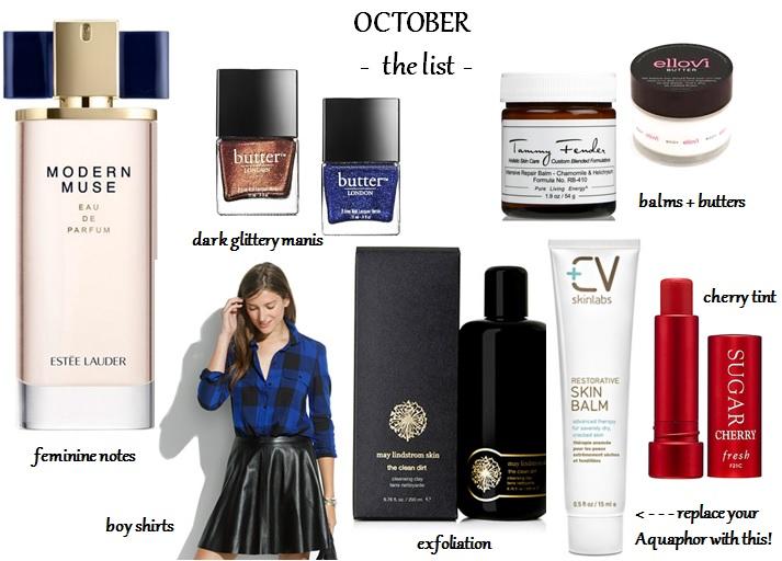 October-List