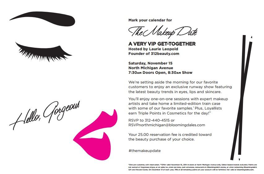 Bloomingdale's The Makeup Date