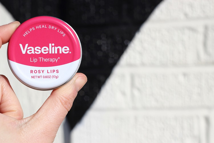 Vaseline Lip Therapy Tin Rosy