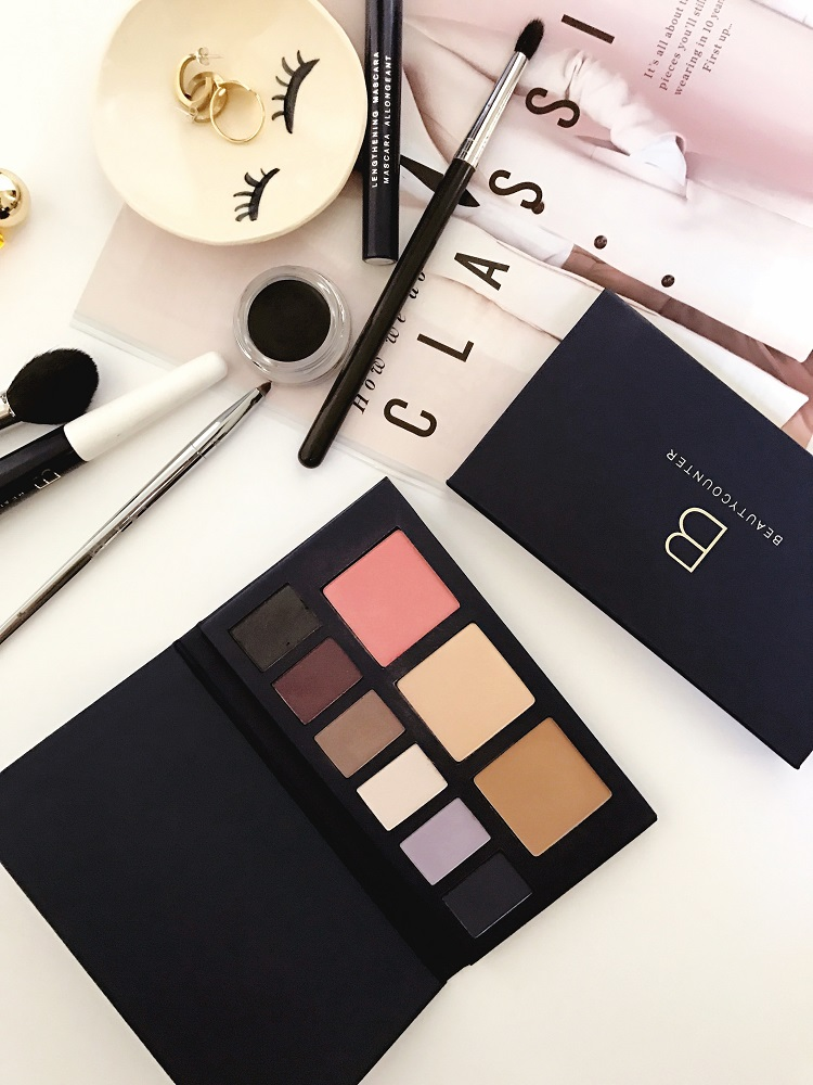 beautycounter holiday face palettes
